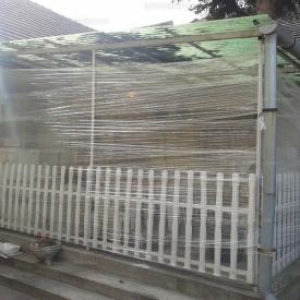 Házilagos télikert építés szakmailag hibásan - Esettanulmány
