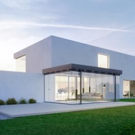 Teraszbeépítés modern házakhoz